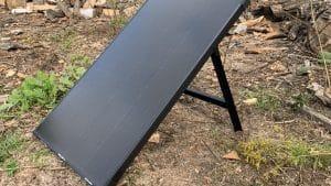 Solarpanel Boulder 100 Seitenansicht