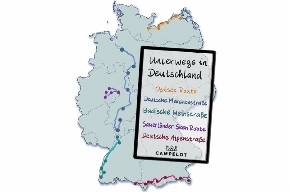 Die 5 schönsten Reiserouten in ganz Deutschland