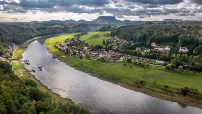 Reiseroute Sachsen