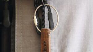 Schlüsselanhänger Campelot mit Gravur Campelot